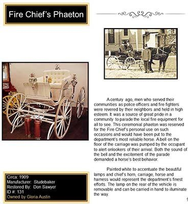 Fire Chief's Phaeton